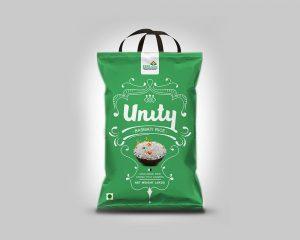 bolsas de arroz con asa