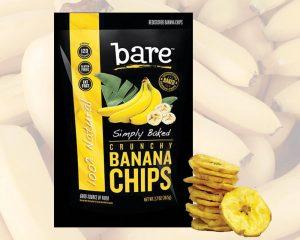 Empaquetado de chips de banana
